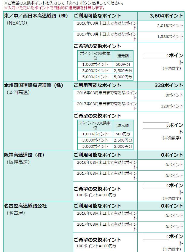 ETCマイレージ登録4