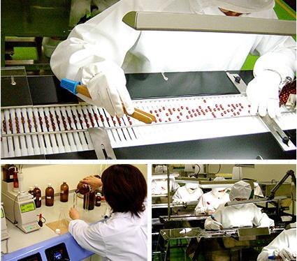 ビューティボタニカルはGMP認定工場