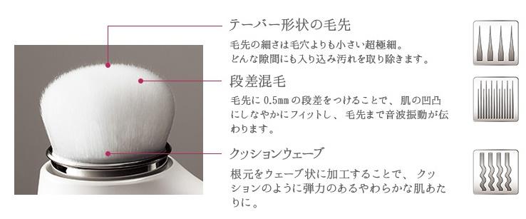 MTGのリファクリア熊野筆